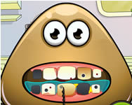 Pou tooth problems Pou játékok